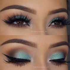 (paid link) Below you'll find gorgeous Hair Color For Brown Eyess that are believed to become the trendiest this year. How approximately irritating one of them? 1. Chocolate and Caramel. #haircolorforbrowneyes Makeup Looks For Brown Eyes, Brown Makeup, Blue Eye Makeup, Smokey Eye Makeup, Skin Makeup, Eyeshadow Makeup, Eyeshadows, Green Eyeshadow, Smoky Eye