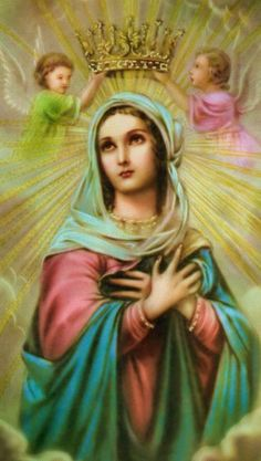 If you want Christ as a Brother, you must have Mary as your Mother. Place yourself in our Blessed Mothers arms where Christ is Himself