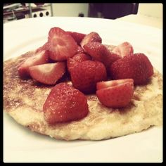Lchf & lowcarb pancake! Visit the site lowcarbshighfat.com for the recipe!