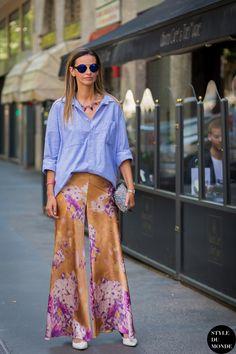Clara Racz Street Style Street Fashion Streetsnaps by STYLEDUMONDE Street Style Fashion Photography