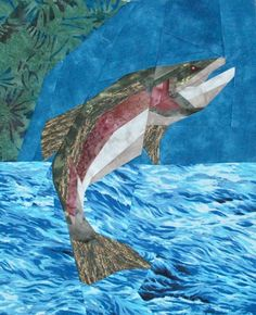 silver linings quilting pattern trout