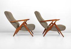 Carlo Mollino Poltroncina Lounge Chairs