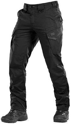Aggressor Flex - Tactical Pants - Men Black Cotton with Cargo Pockets Black Tactical Pants, Tactical Wear, Camo Pants, Pants Outfit, Security Uniforms, Casual Pants, Men Casual, Combat Pants, Men Accessories