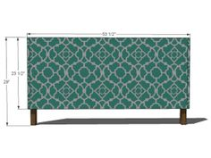 Staple Fabric to Cover Headboard