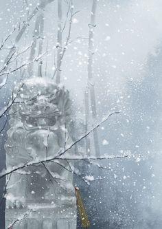 寒来暑往-符殊__涂鸦王国插画