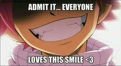 Admet le... Tout le monde aime ce sourire - Fairy Tail - Natsu