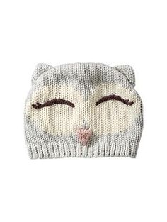 this must make its way to my daughter's cute little head. Knit owl hat | Gap