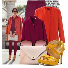 """""""Color Code"""" by prettyorchid22 on Polyvore"""