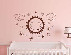 vinilo bebes infantiles paredes dormitorio