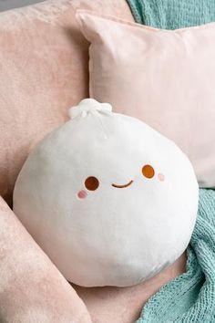 Cute Pillows, Throw Pillows, Japanese New Year, Kawaii Bedroom, Cute Room Decor, Cute Stuffed Animals, Cute Plush, Squishies, Cute Toys