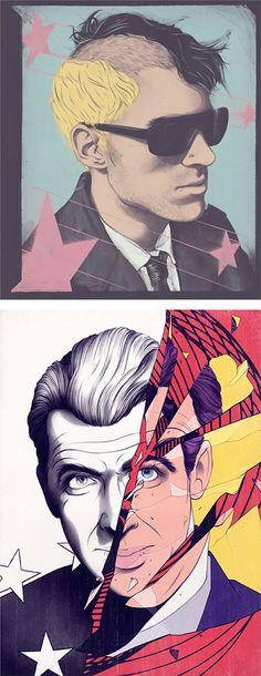 Illustrations by Andrew Archer | Inspiration Grid | Design Inspiration
