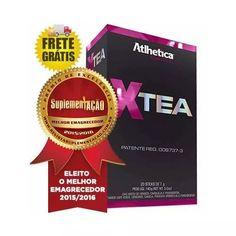 39e839ab2 X-tea 20sticks D 7g Atlhetica Melhor Emagrecedor Frete Gráti - R  111