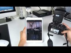 How to turn your iPad / Android Devices into a viewfinder for the Lumix Gh4 - YouTube