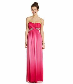 Speechless Sequin Bodice Pleat Gown (Juniors) (Online Only ...