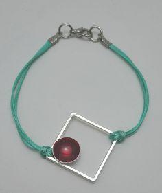 Βραχιόλι ορείχαλκος τετράγωνο και κουπάκι Hoop Earrings, Bracelets, Silver, Jewelry, Jewlery, Jewerly, Schmuck, Jewels, Jewelery