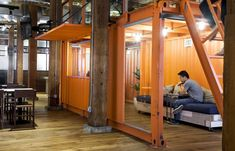 Playful Architecture Offices : Open Plan Office