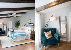 The Baby Blue House | Season 3 | Fixer Upper | Magnolia Market | Bedroom | Chip & Joanna Gaines | Waco, TX