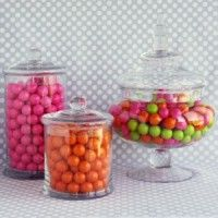 Dessert bar supplies from candy jars to cake plates and much more at Shop Sweet Lulu.