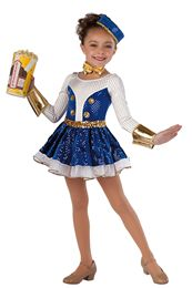 Novelty Dance Costumes | Dansco | Dance Fashion 2014 2015 | Pinterest Keywords: Concession Stand Popcorn Theatre Movies | Costume Name: Let's Go to the Movies 15580