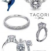 love and want them all! Tacori Engagement rings! vintage heirloom styles