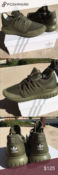 77f5fa912aa Adidas shoes Custom mi tubular radial adidas shoes for women size 9 in  olive cargo color