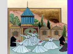 Cahide keskiner Whirling Dervish, Ottoman Empire, Sufi, Art Sketchbook, Persian, Miniatures, Watercolor, Painting, Pictures