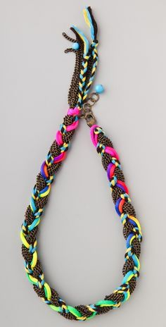 #DIY Braided Chain, & Embroidery Thread & Nylon Cord Necklace TUTORIAL!   By Keep Calm & DIY
