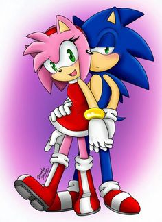 Read Sonic e Amy from the story As Melhores Imagens De Sonic by SonamyBr with reads. Sonamy e o melhor casal >< ~na. Sonic And Amy, Sonic Boom, Sonic The Hedgehog, Hedgehog Movie, Shadow The Hedgehog, Amy Rose, Tikal, Fluttershy, Fotos Do Sonic