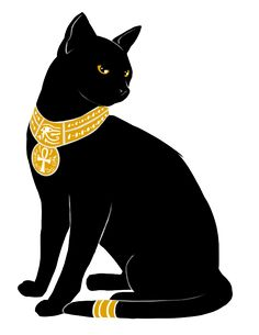 So many cool art interpretations of Bastet