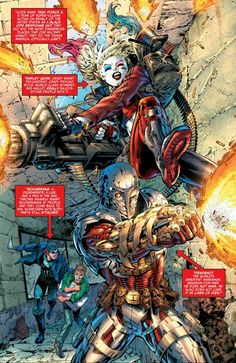 Suicide Squad Rebirth Deadshot, Harley Quinn, and Captain Boomerang