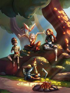 Avatar, the Legend of Aang is one of my favorite shows of all time! Avatar Aang, Katara Y Zuko, Avatar Legend Of Aang, Team Avatar, Legend Of Korra, Avatar Fan Art, The Last Avatar, Avatar The Last Airbender Art, Arte Ninja