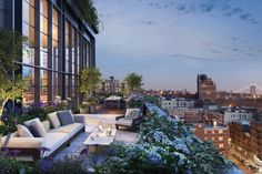 Terraces are typically valued at 25% to 50% of the price-per-square-foot of the…