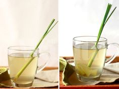 [Thailand Recipes] Ginger Lemongrass Spiced Tea - Drink and Drink How To Eat Ginger, Raw Ginger, Ginger Tea, Lemongrass Tea, Lemongrass Recipes, Health Benefits Of Ginger, Easy Asian Recipes, Detox, Health Tips