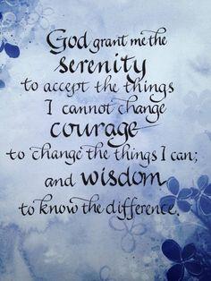 Sexual serenity prayer