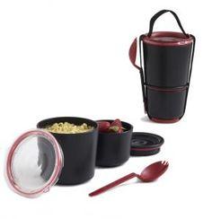 Lunch Pot in black