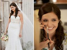 San Luis Obispo Wedding Makeup and Hair: All Dolled Up