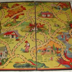 The Uncle Wiggley game.   One of the few games we had as kids.  We still have 2 vintage sets.