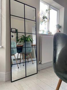 Living Room Mirrors, Living Room Decor, Industrial Mirrors, Diy Mirror, New Room, Decoration, Room Inspiration, House Design, Interior Design