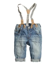 Jeans with Suspenders - from H&M