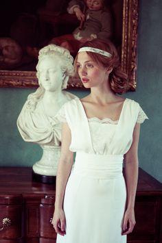 Robe de couturier : Elise Hameau jeanne-florence http://elisehameau.com/2014#/jeanne-florence/