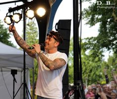 Ray Quinn at Party in the Park, Dunstable