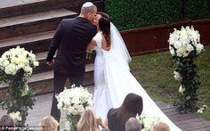 Ashley Herbert's wedding dress