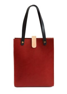 Shop Brandy Leather Tote by TINCT at Gather&See. Made In Uk, Ethical Fashion, Fashion Online, Tote Bag, Leather, Bags, Shopping, Accessories, Scale