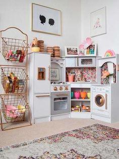 Ordenar los juguetes: Cocinitas