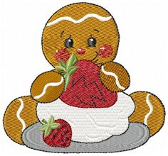 Another design in the Ginger Bread baby collection