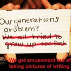 """And poor education. (""""Generations"""" needs an apostrophe. Hipster Quote, Hipster Edits, Funny V, Funny Pics, Hilarious, Make Me Happy, Make Me Smile, Stupid Pictures, Laugh Laugh"""