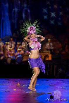 Heiva i Tahiti 2015, Toa'ta / Homai MARURAI, candidata a mejor bailarina solista / Grupo Tamarii Pereaitu / Foto: Anapa Productions