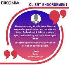 The in-depth knowledge of our expert #web #application #developers is reflected in the #testimonials of our #clients.   Read about the experience of one of our clients Mr. Jason - the owner of my.checkinhr.com -custom designed web application for tracking real time employee feedbacks.   Visit http://www.dikonia.com/checkinhr.php to find more.  #WebApplicationDevelopment #WebApps #Dikonia