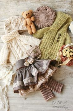 small knitting