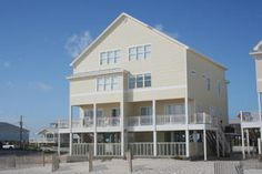 Fort Sun W Fort Morgan HOUSE 5 bed/ 5.5 bath $4350 small private pool under house, jacuzzi, 2 fridges
